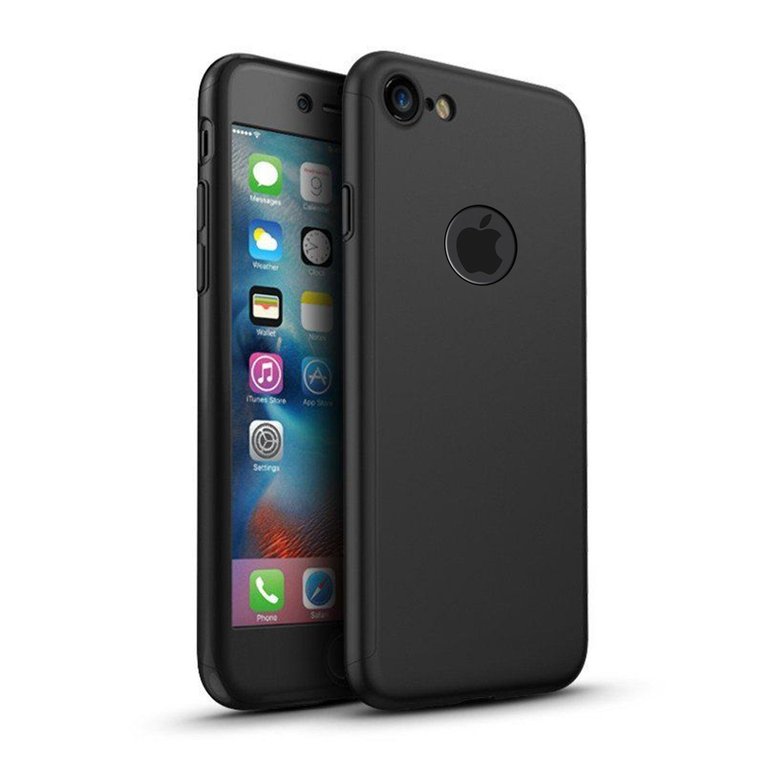 2 In 1 360 Full Body Phone Cases For Iphone 7 Plus Products 2in1 Gravity Case Cover Tempered Glass 6 Pinterest