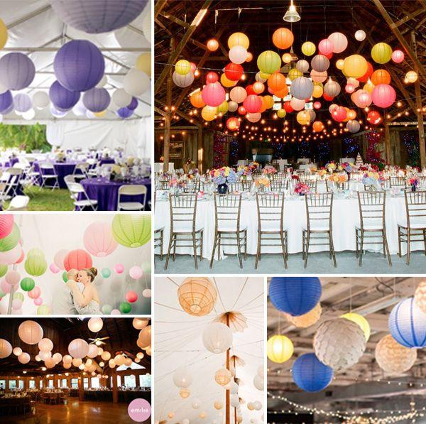 2014 wedding decoration ideas using lanterns diy paper lanterns 2014 wedding decoration ideas using lanterns junglespirit Gallery