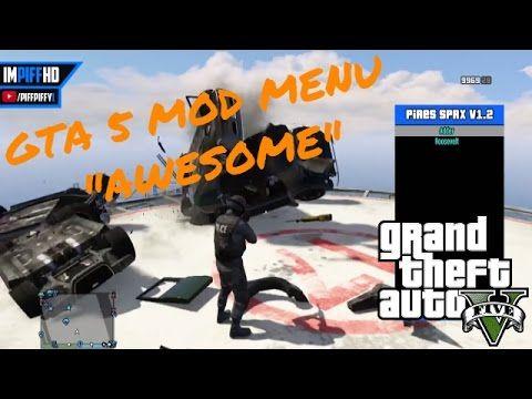 GTA 5 Mod Menu 1 26/1 28 - GTA 5 ONLINE MOD MENU!!
