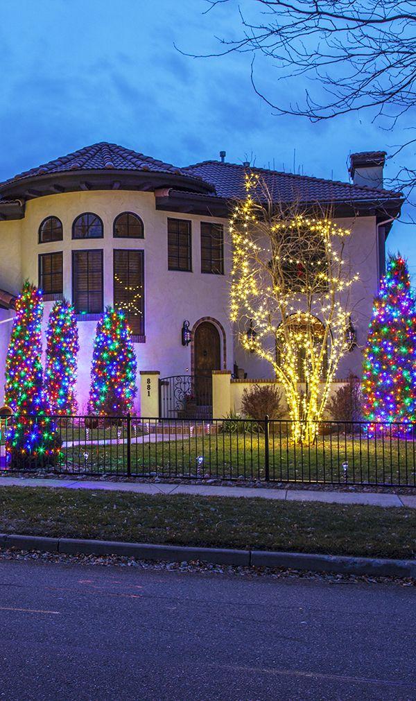 Christmas Lights Hanging Service