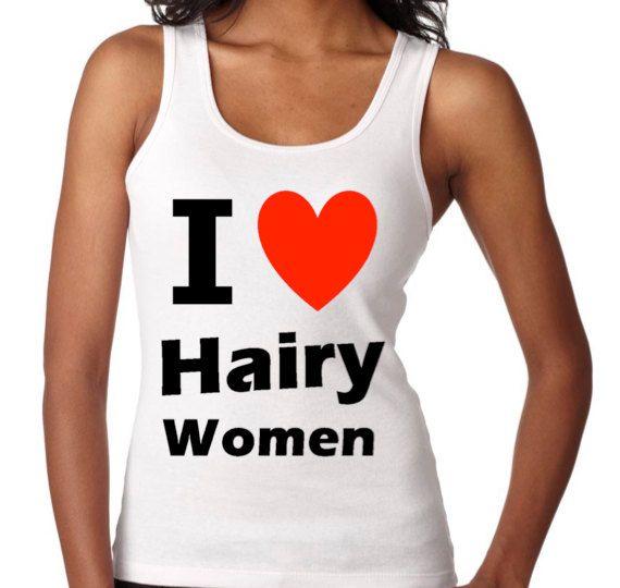 Lesbian Tank I Love Hairy Women Funny Lgbt Humor By Allgaytees