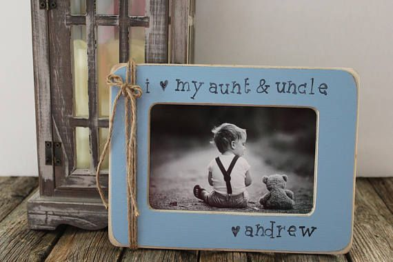 Aunt and Uncle Picture Frame Personalized Picture Frame Aunt ...