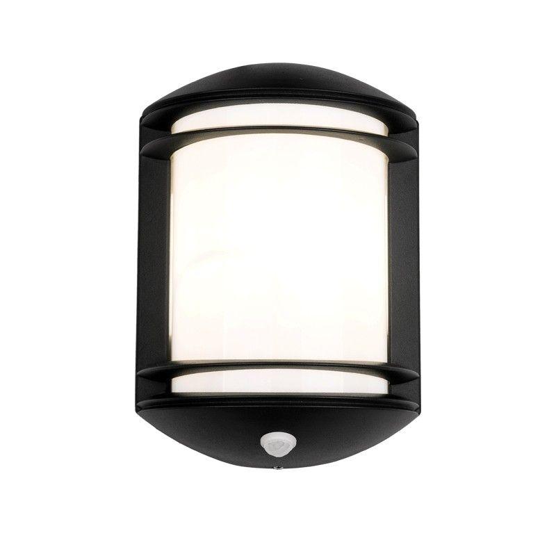 Edit Quartz Outdoor Wall Light With Pir Sensor Anthracite