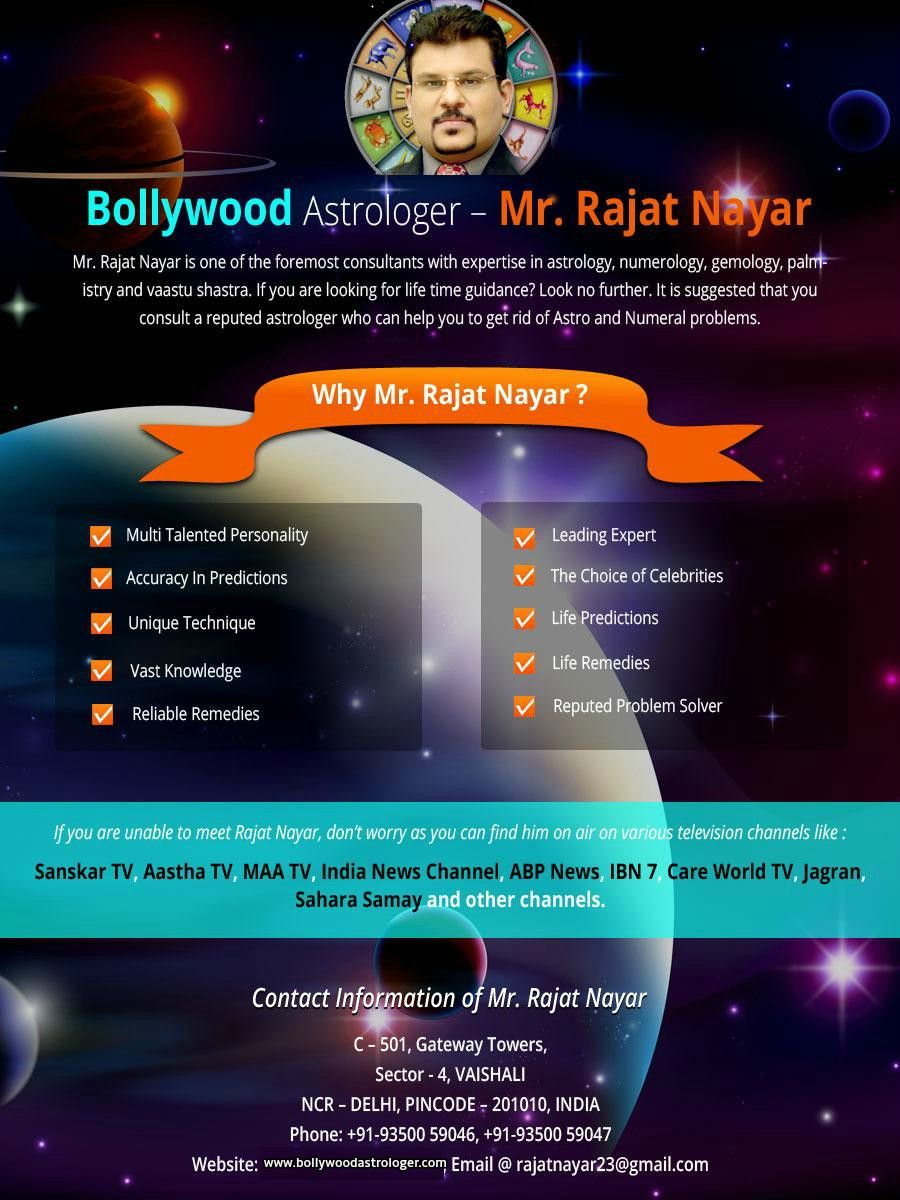 Contact the World Famous Astrologer in India