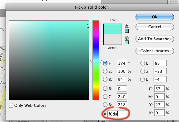 Essa cor é f*da!