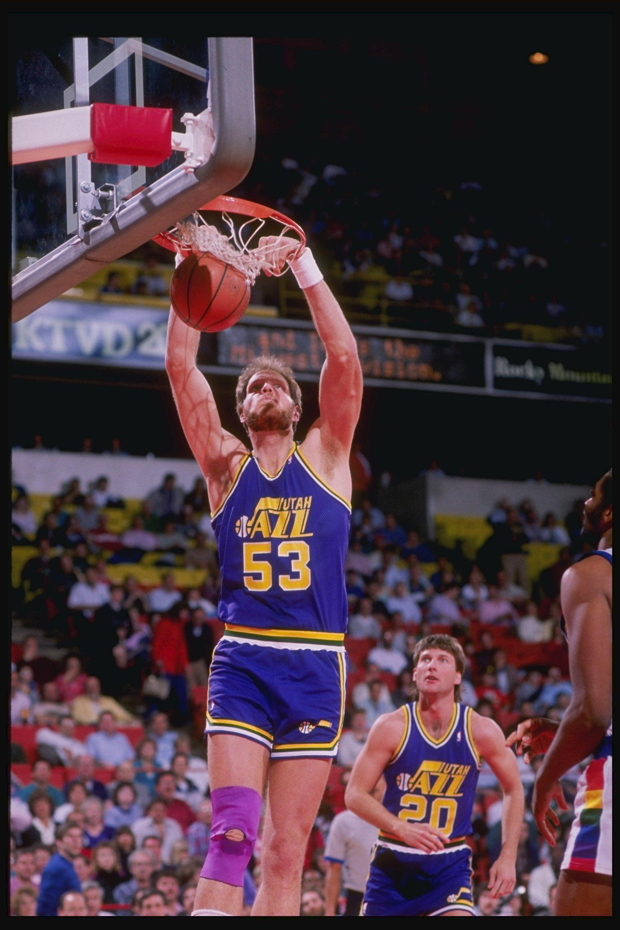 Mark Eaton of the Utah Jazz Basketball Pinterest
