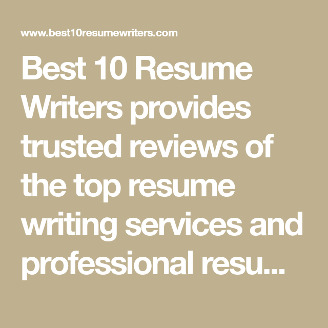 List of best resume writing services