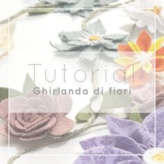 Photo of Tutorial per realizare a ghirlanda di fiori di feltro