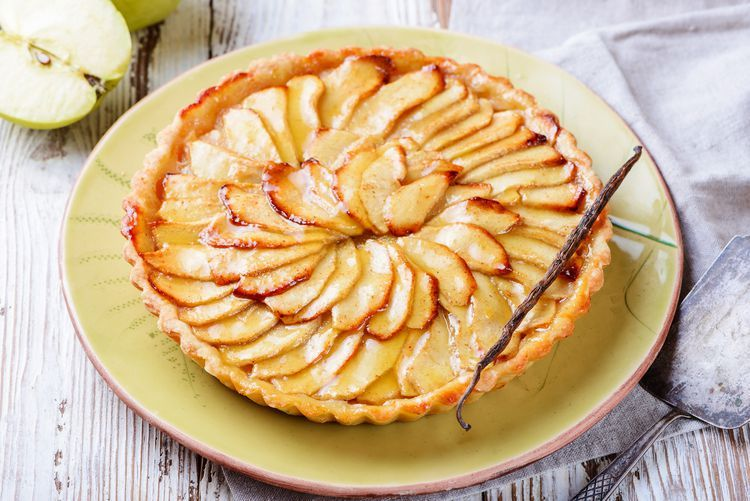 How to Make French Apple Tart Recipe With Pastry Cream