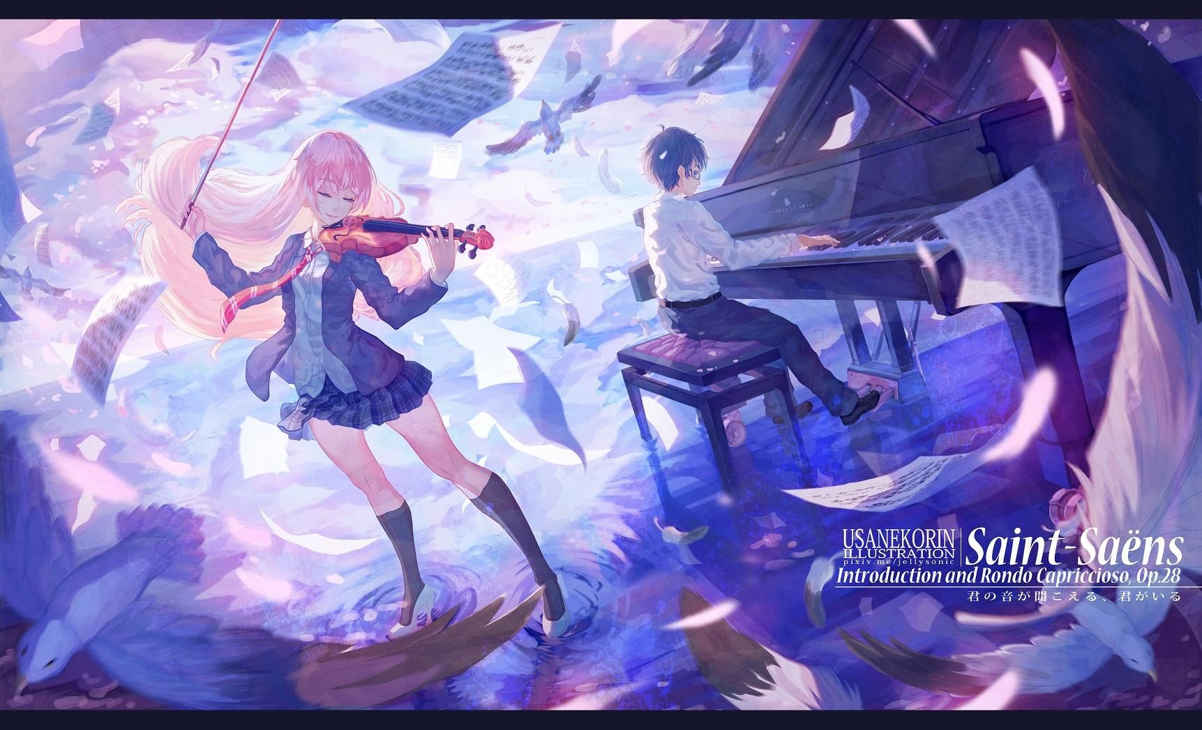 Your Lie In April Wallpapers HD Download Your Lie in