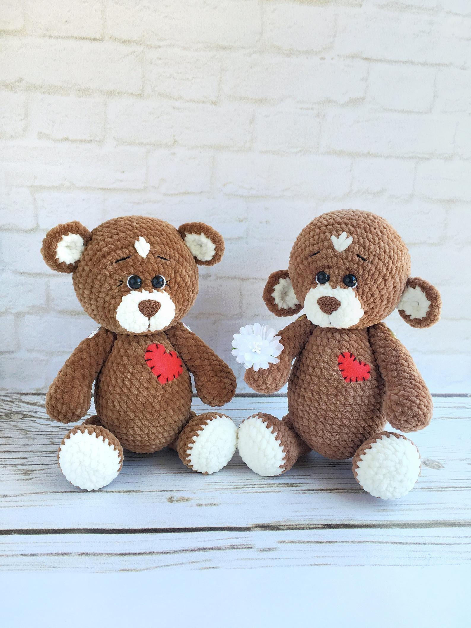 Amigurumi pattern crochet bear pattern easy crochet
