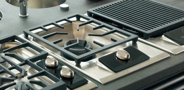I Love Wolf S Integrated Modules Electric Gas Grill Steamer Fryer Induction So Many To Choose From