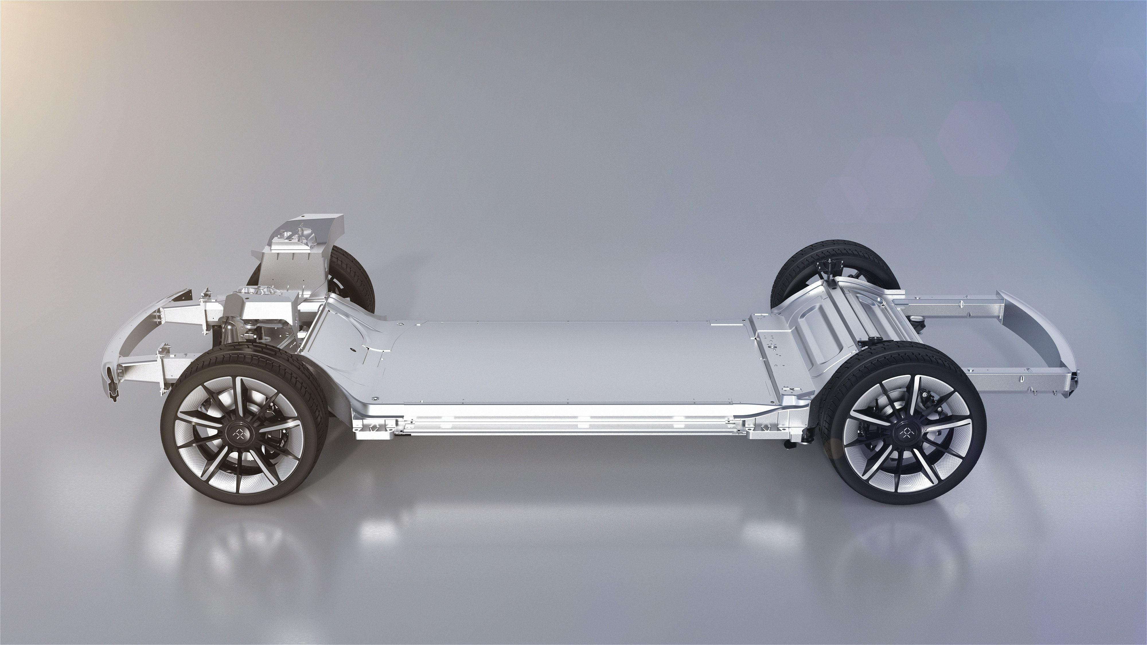 Faraday Future FF 91 VPA Motor #faradayfuture #ff91 #electric