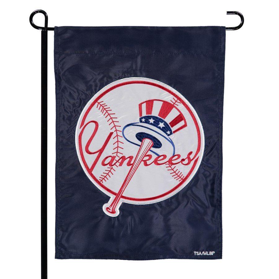 New York Yankees 12 5 X 19 Applique Double Sided Garden Flag Mlb Newyorkyankees Gardenflags Gardens Gift New York Yankees Yankees Evergreen Enterprises