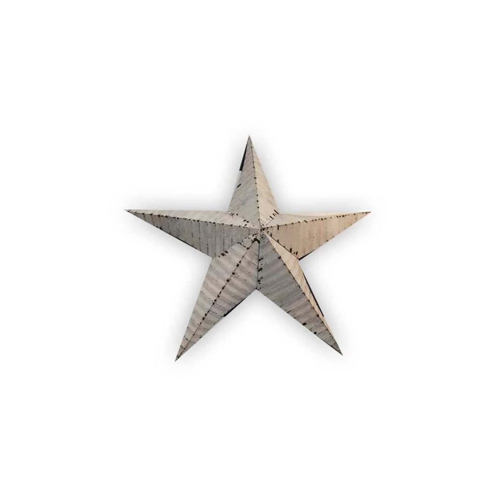 New star wall art small white pre order due mid september our stunning primitively styled star wall art takes its influence from the traditional american amish barn stars believed to be a symbol of good luck and biocorpaavc Images
