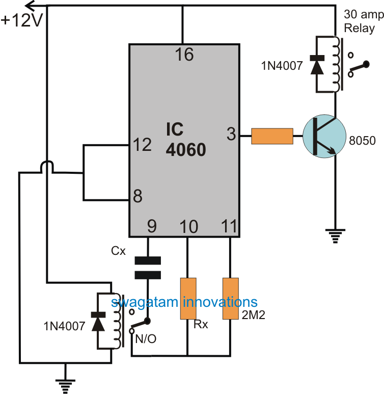 How To Build Amplifier Timer Circuit Schematic Circuit