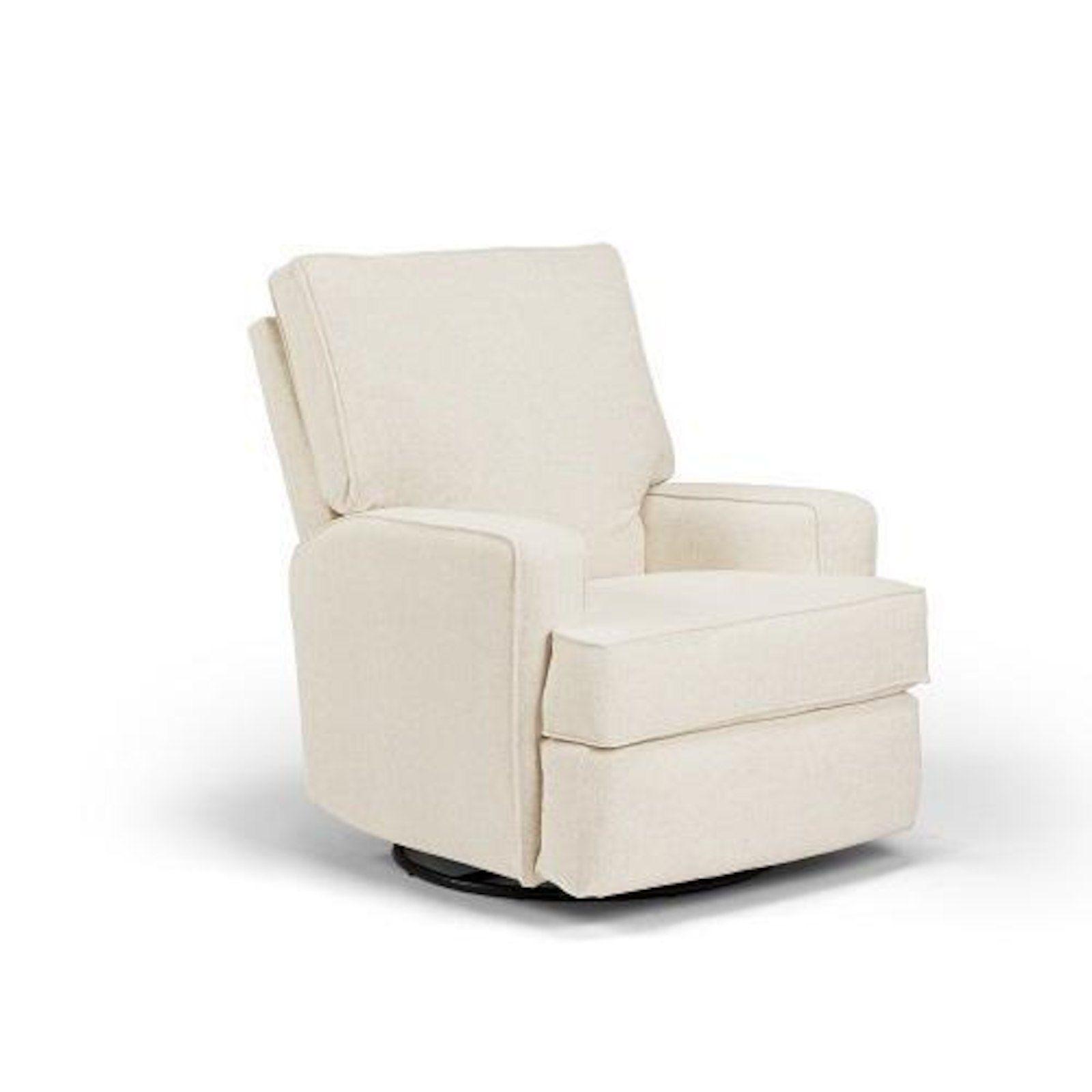 Best Chairs Kersey Swivel Glider Recliner - Linen | Colorful nursery ...