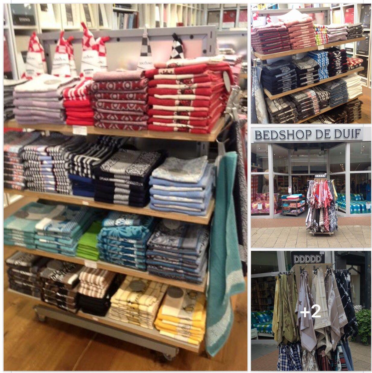 #DeBedshop DeDuif Nieuwe collectie #handdoeken #theedoeken van o.a. de merken #Elias #DDDDD #DeWitteLietaer #Haverstraatpassage #Enschede.