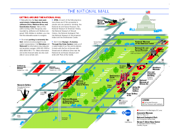 The National Mall Washington Dc Favorite Places Pinterest: Map Washington Dc Pdf At Usa Maps