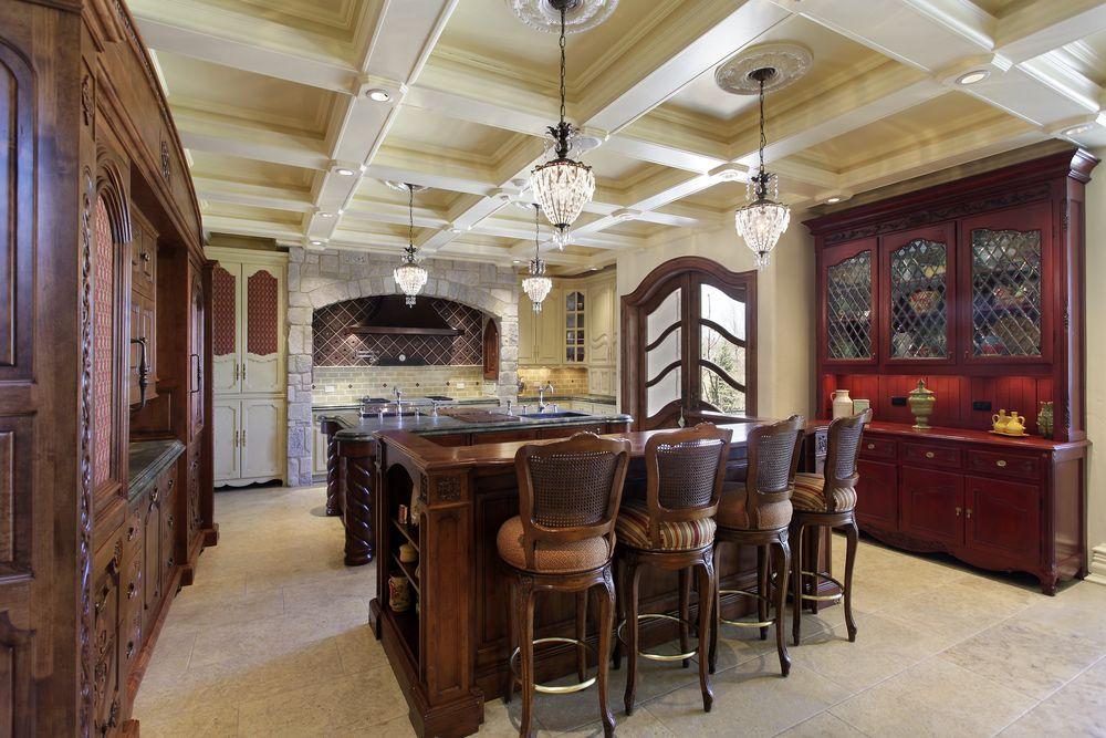 64 deluxe custom kitchen island designs | custom kitchens, luxury