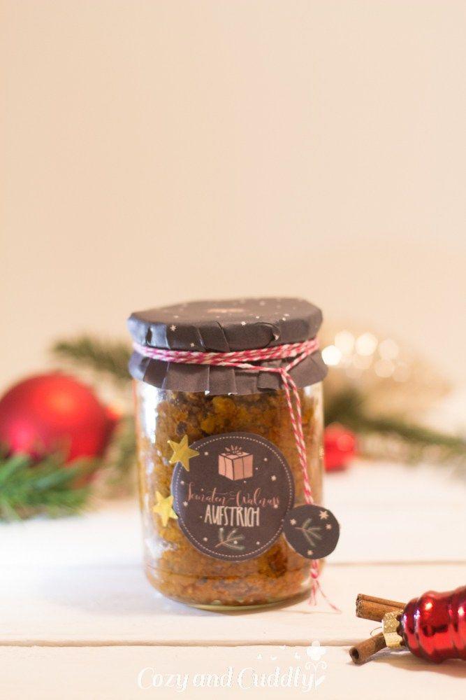 Adventskalender Türchen Nr 13 - Aufstrich aus getrockneten - kleine geschenke aus der küche