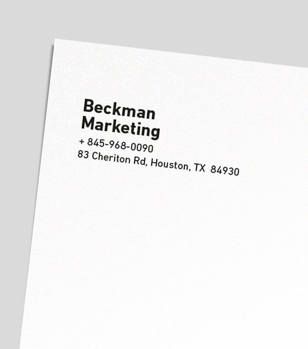 browse letterhead design templates moo united states letter