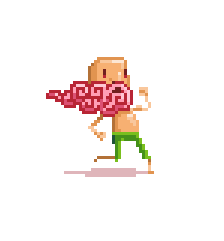 Pixel art character for game