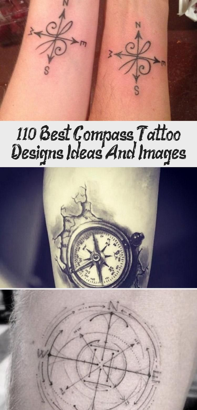 110 Best Compass Tattoo Designs Ideas And Images Tattoos And Body Art 110 Best Compass Tattoo In 2020 Compass Tattoo Design Compass Tattoo Compass And Map Tattoo