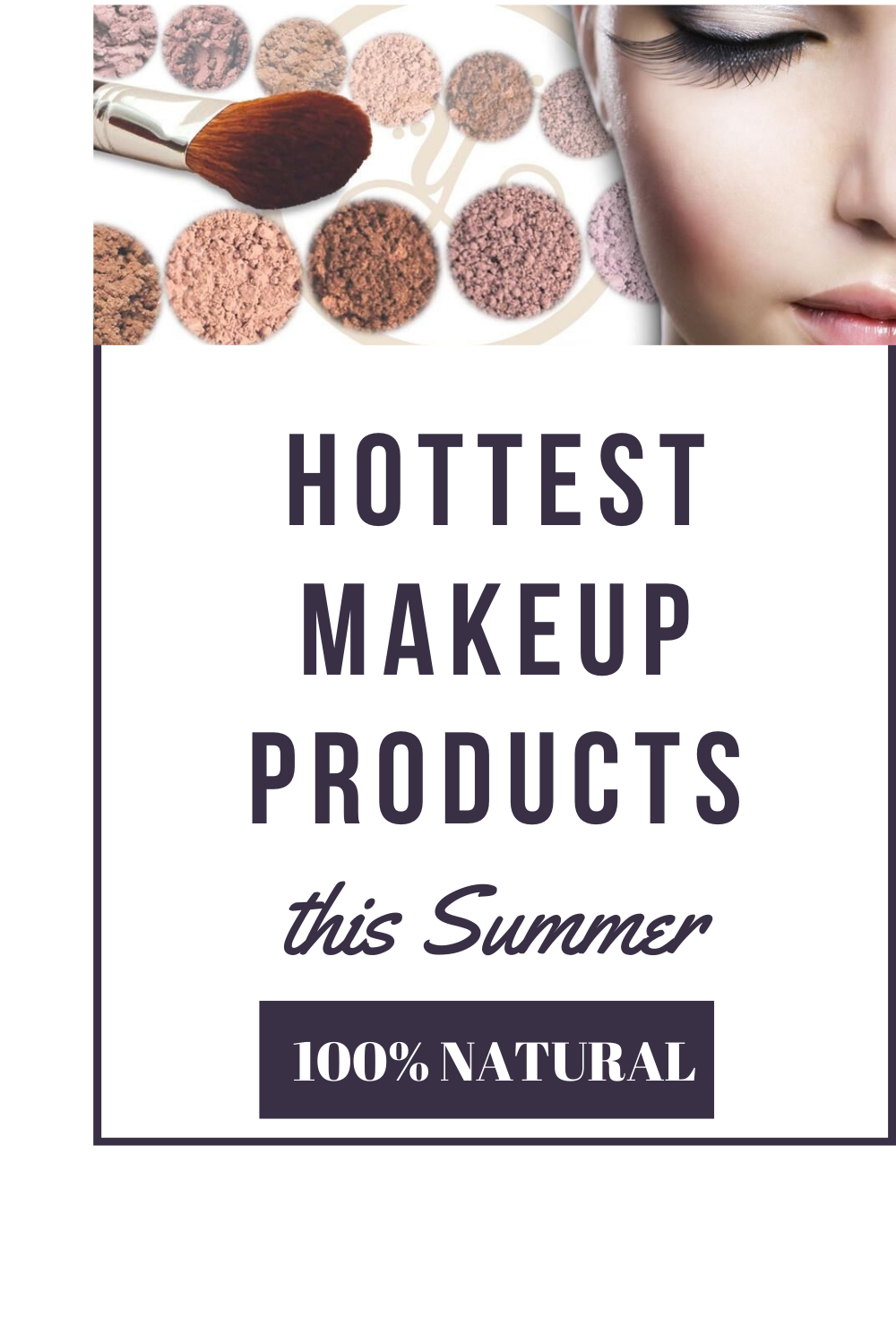 Are you spending a lot of money on high-end brands to put chemicals and toxins on your face? Did you know that toxins (depending) how long you use it can cause illnesses?  #100percentNatural #Natural #Notoxins #Nochemicals #NoAddedFragrance #MINERALMAKEUP #thebestMakeup #makeup #beauty #EYESHADOW #lipstick #makeupartist #NaturalSkinProducts #SKIN #PORES #goodforyourPores #cleanMakeup #healthy #happy #Brighter #Glow #health #Wellness #NOWASTE #takeouttheBAD #freeskin #CLEANFEELING #clean #style