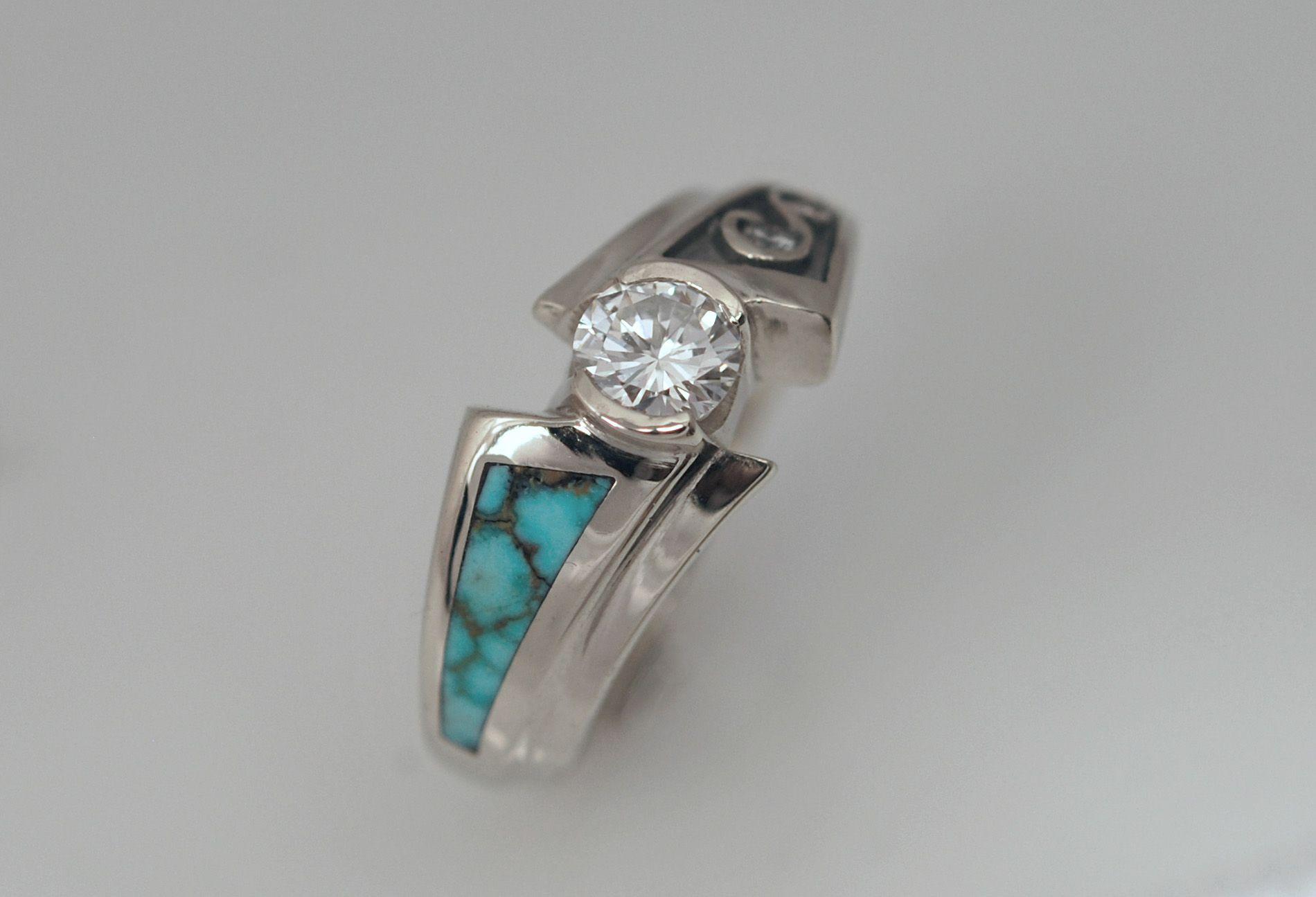 Contemporary Wedding Rings for Women Slide Show for
