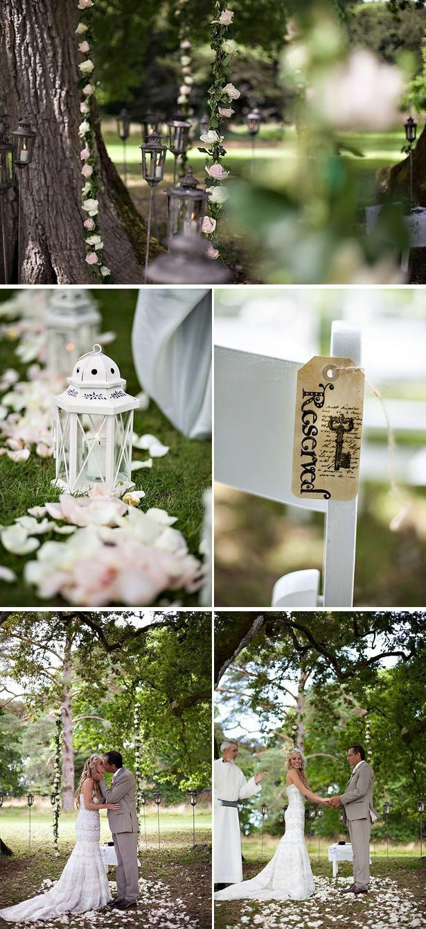 Aisl Shooting more details from this fairytale wedding in ireland! so, so