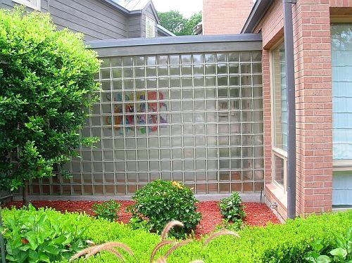 Other Brick Repair And Masonry Design Projects Glass Blocks Wall Glass Blocks Brick Garden