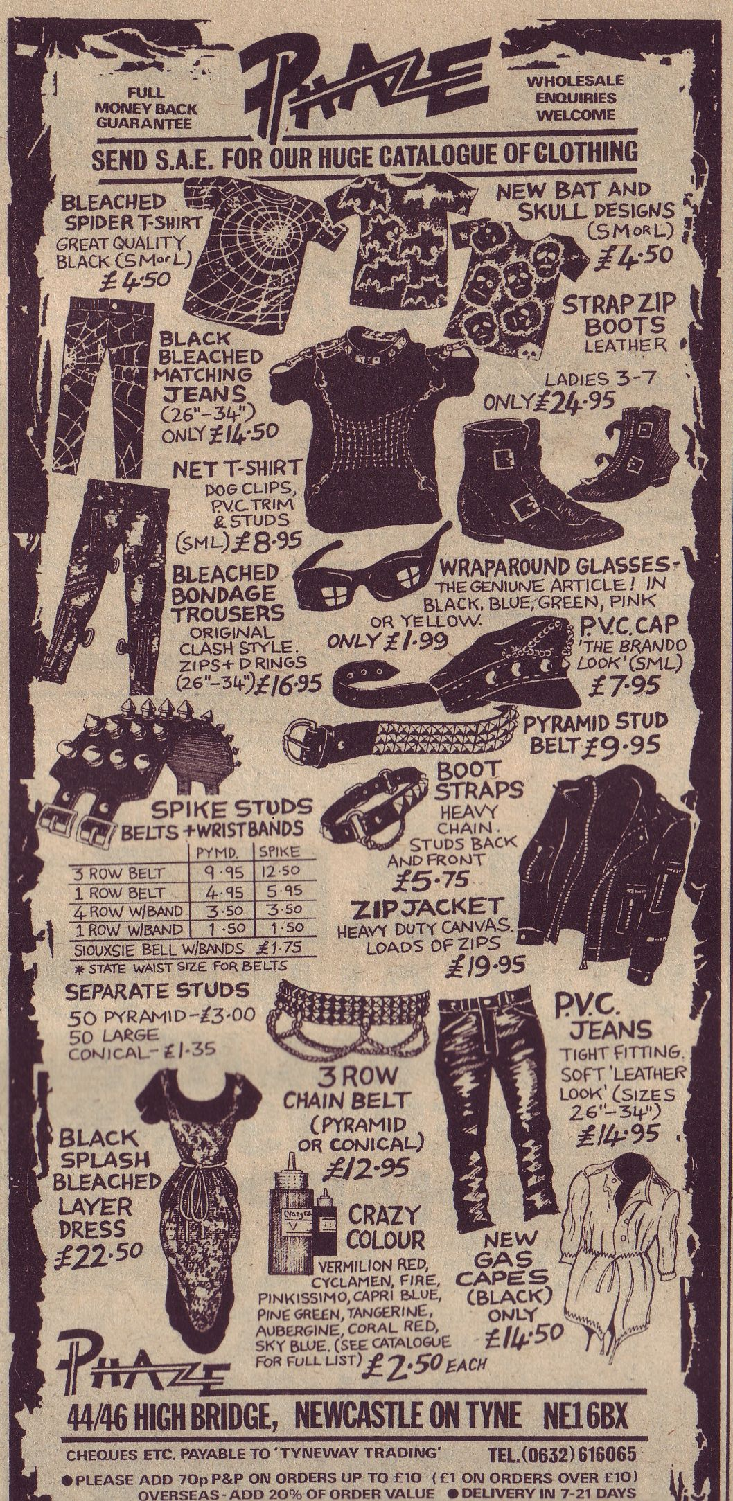 1983 fashion wish list