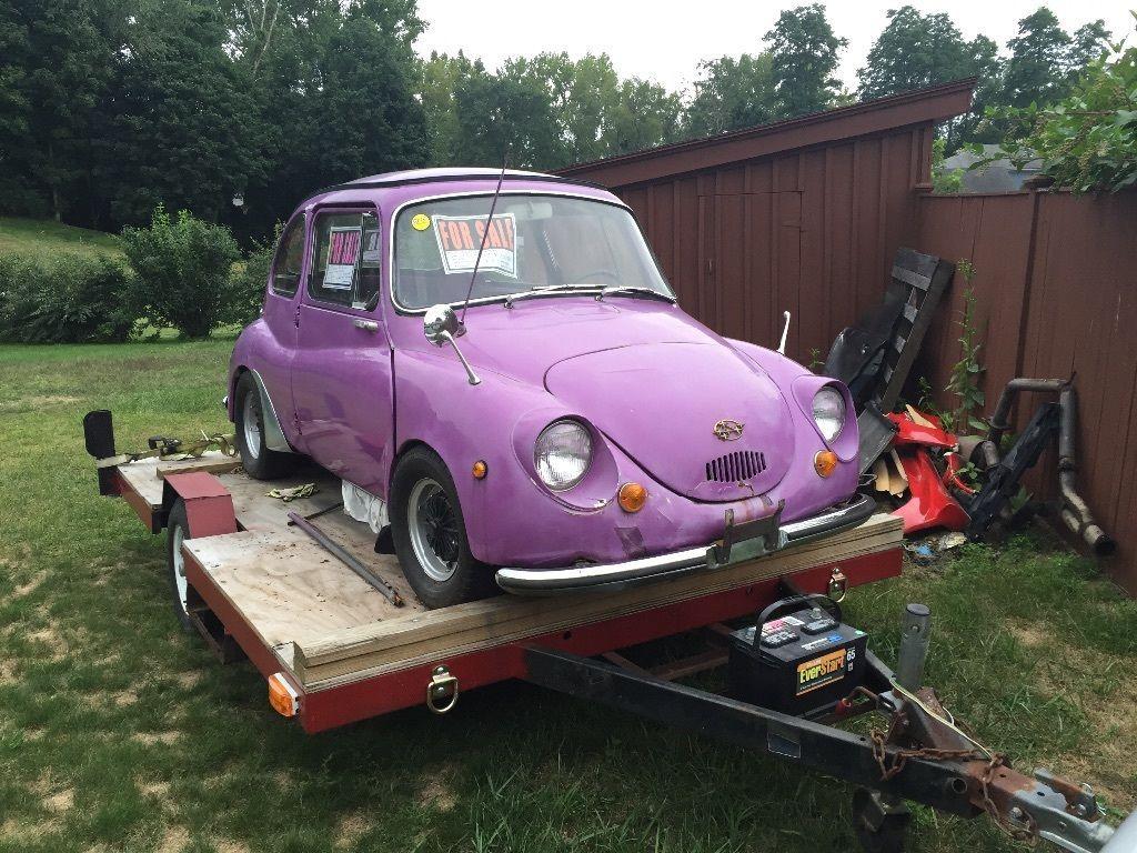 1969 Subaru 360 deluxe Micro car Restoration Project | Project cars ...