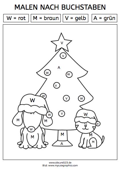 Malen nach Buchstaben | lernen | Pinterest | Kinder Arbeitsblätter ...