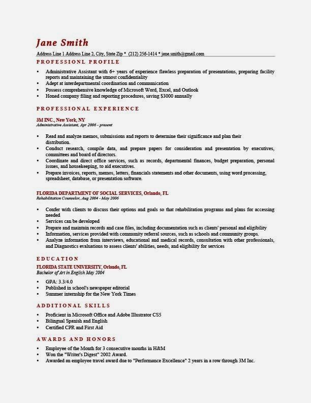 How To Write a Professional Profile   Resume Genius How To ...