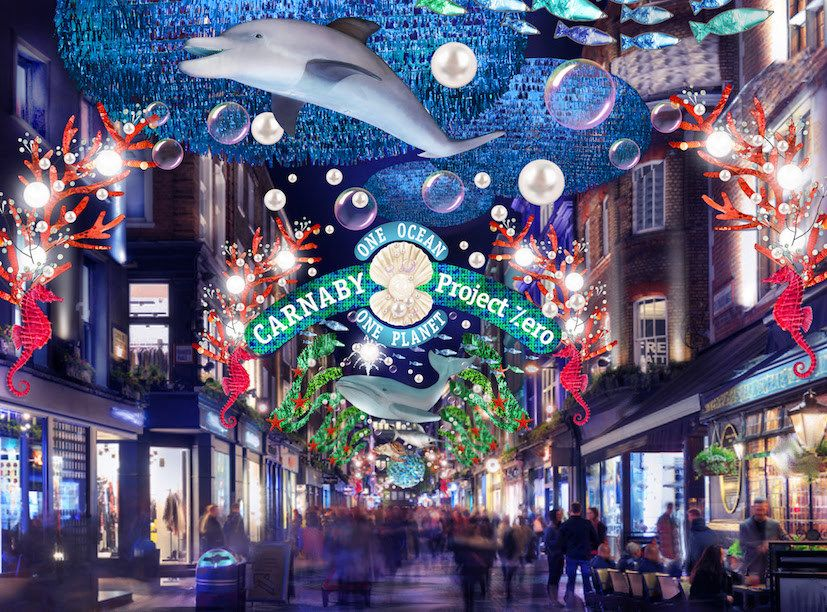 Carnaby Christmas Lights Things To Do In London In 2020 London Christmas London Christmas Lights Christmas Lights