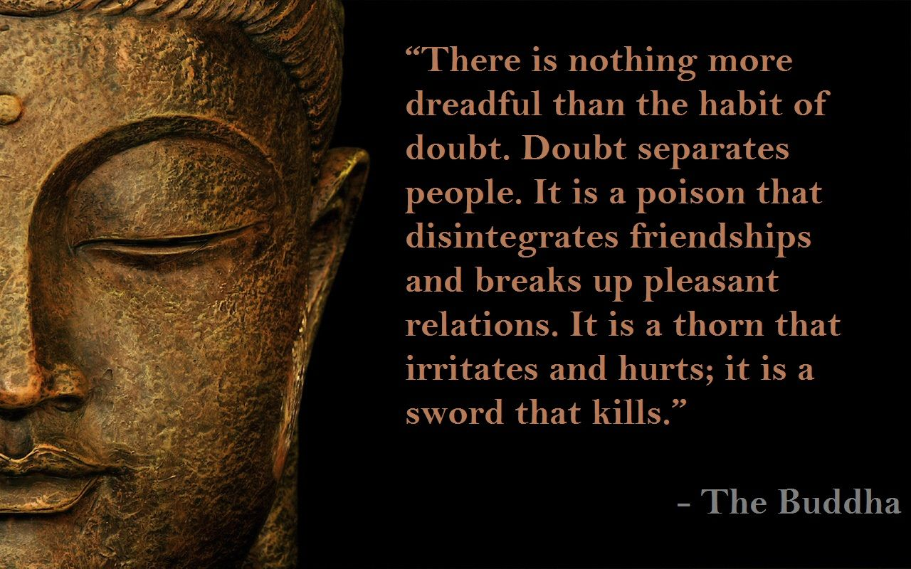 Buddha Quotes With Images Buddha Sayings Lord Buddha Hd Wallpaper Quotes On Doubd Lord Buddha Buddhist Quotes Buddhism Quote Buddha Quote