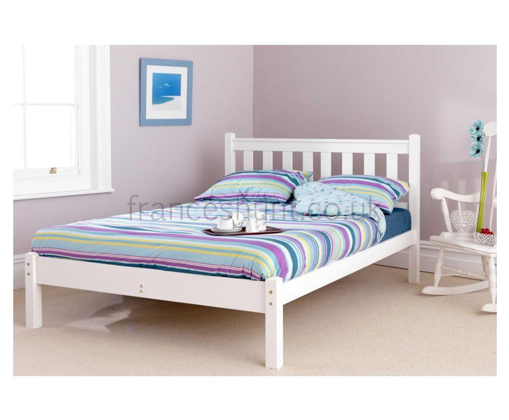 Shaker White Bed Frame Bed Frame White Bedding Pine Bed Frame