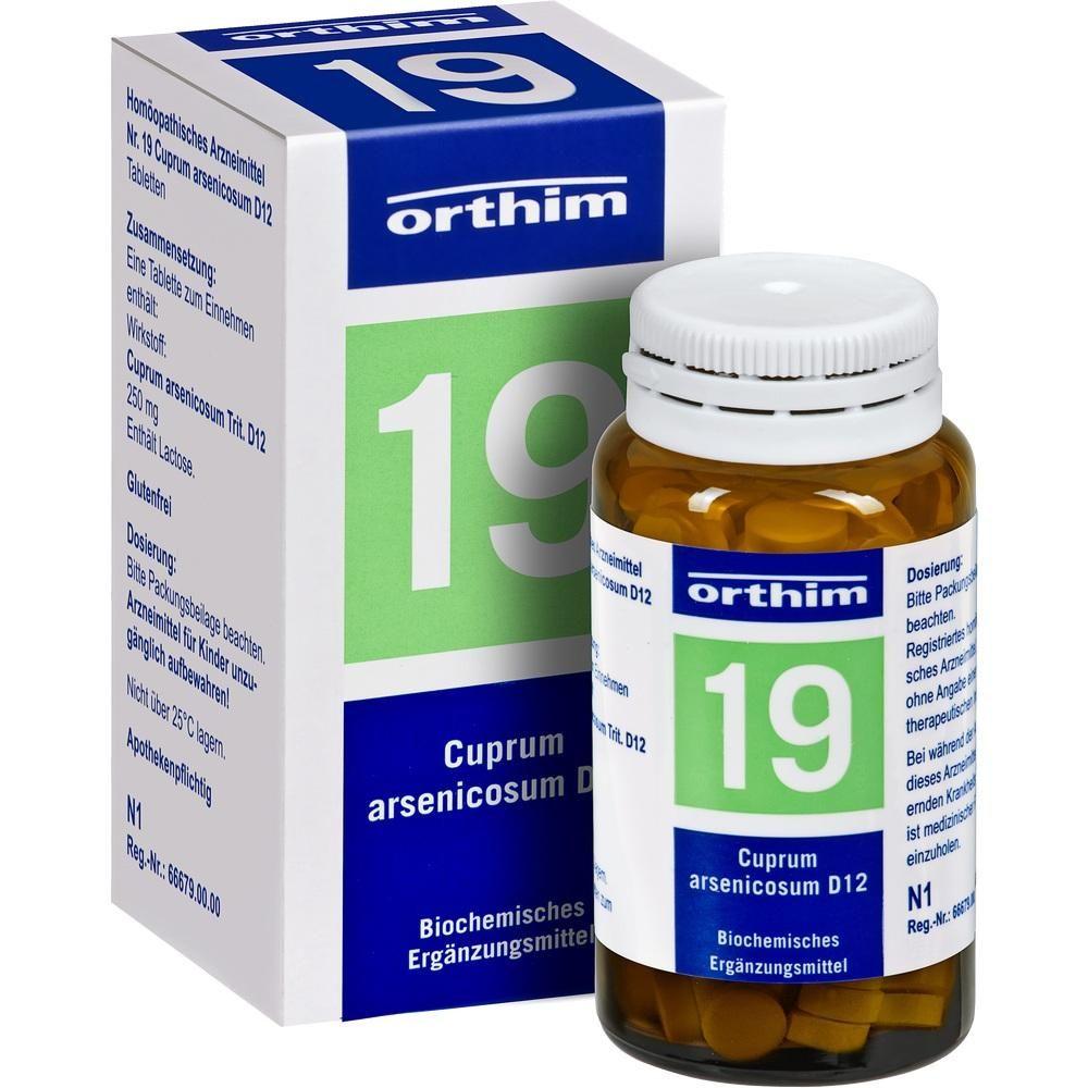 #BIOCHEMIE Orthim 19 Cuprum arsenicosum D 12 Tabletten rezeptfrei im Shop der pharma24 Apotheken