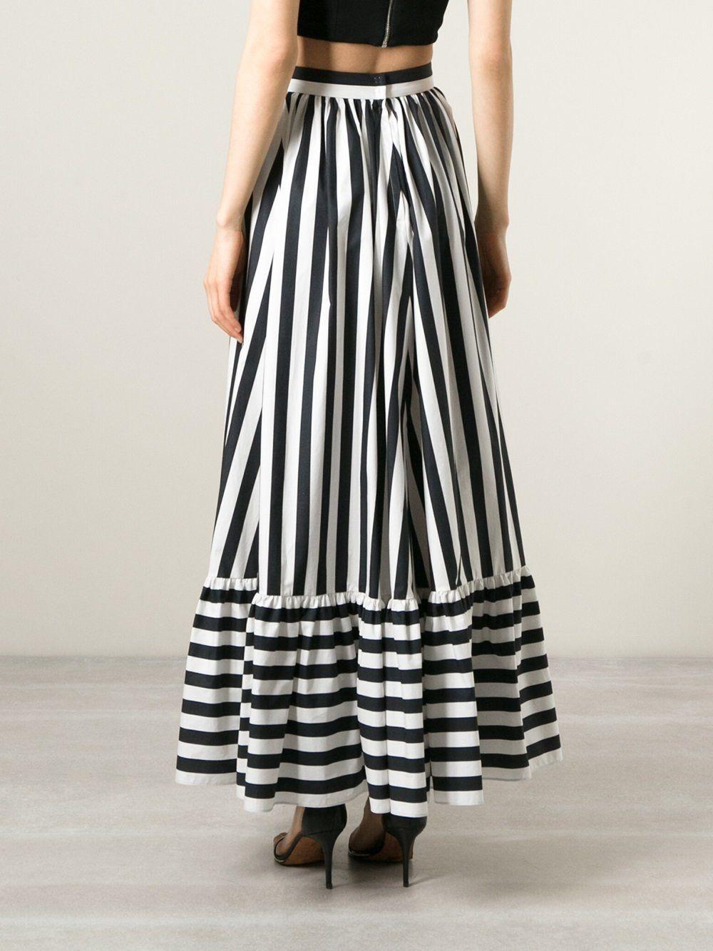 4b1826ba170 Dolce   Gabbana длинная юбка в полоску
