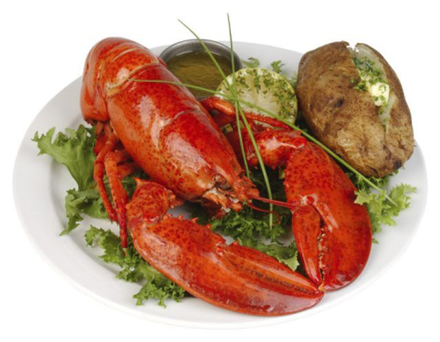 You may want to remove the digestive vein before eating a lobster tail.