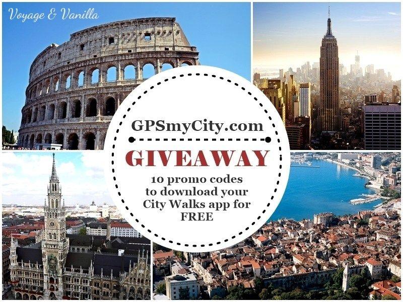 GIVEAWAY: GPSmyCity Walks App