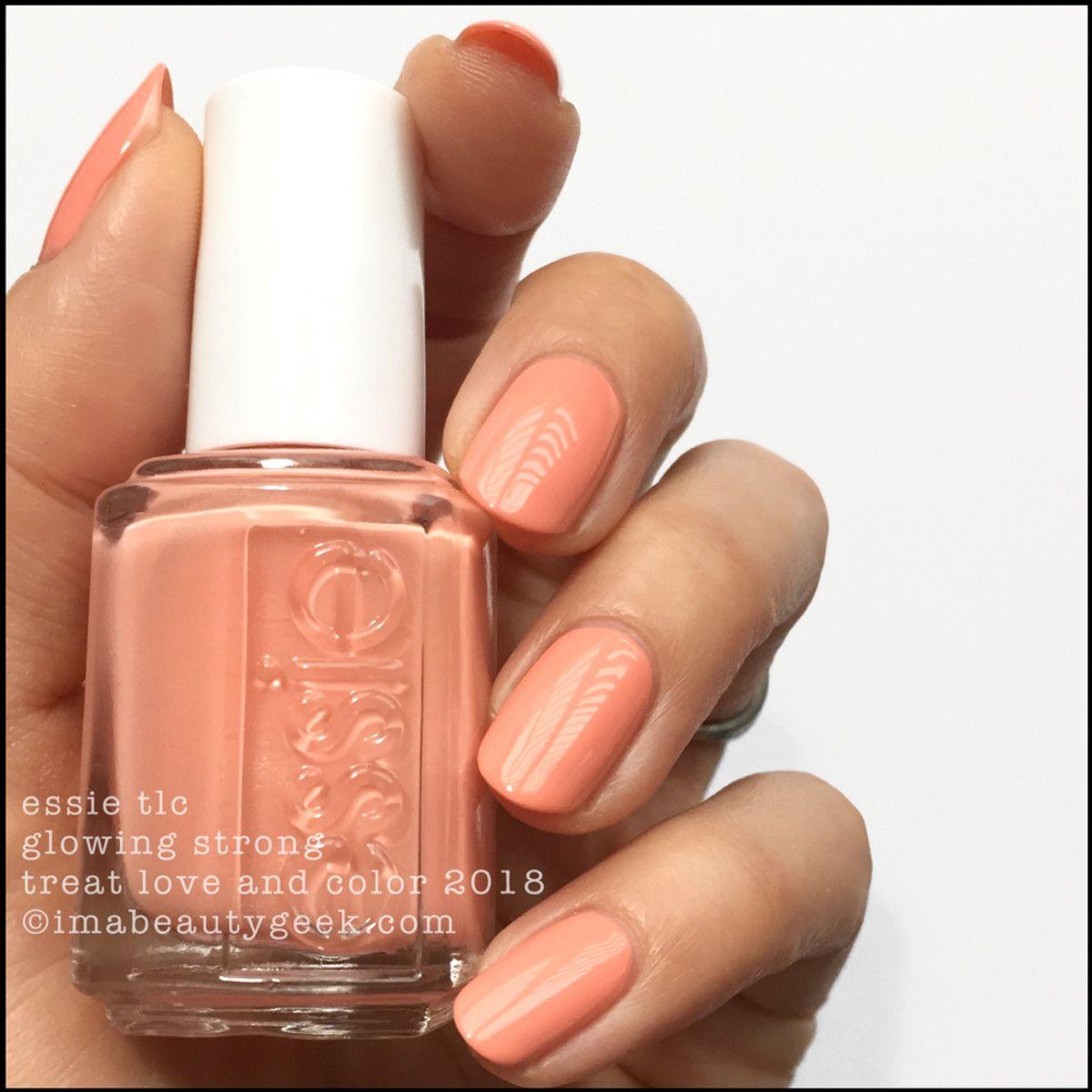 ESSIE TREAT LOVE & COLOR 2018 | Nail nail, Swatch and Top coat