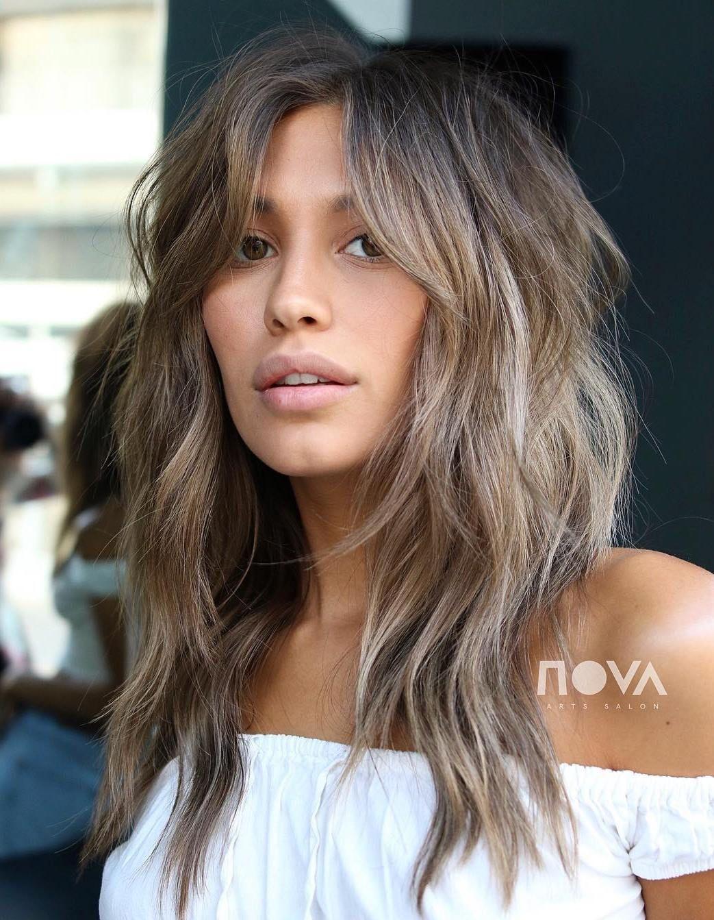 40 Modern Shag Haircuts For Women To Make A Splash Long Shag Haircut Long Hair With Bangs Haircuts For Long Hair