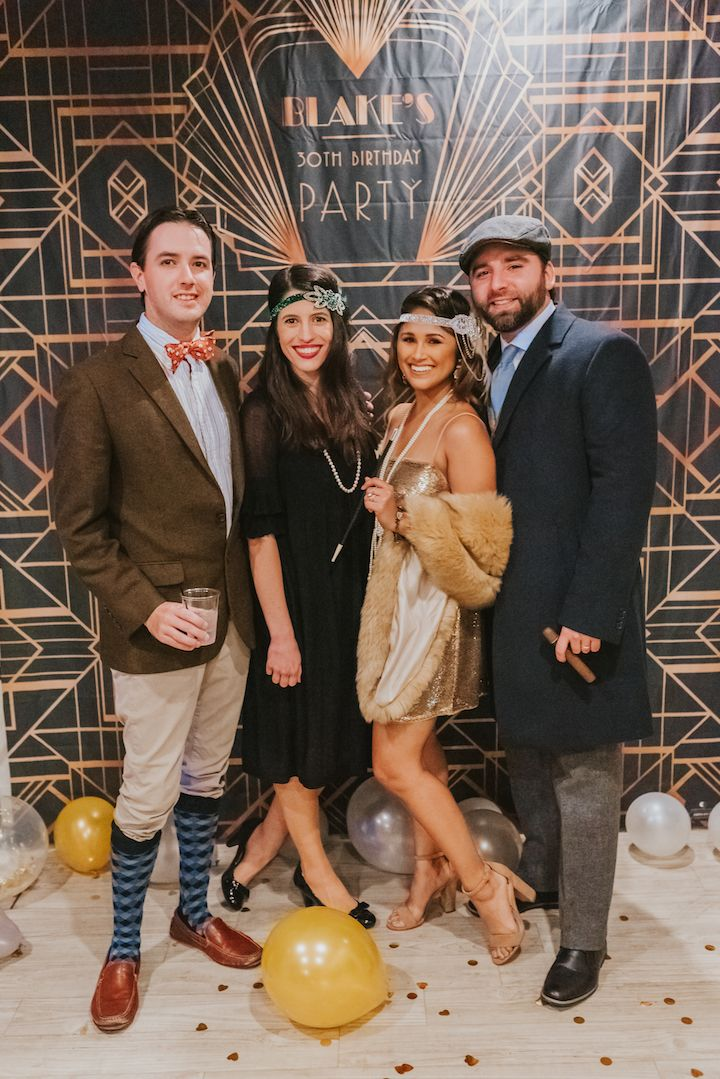 How to Throw a Great Gatsby Themed Party #flapperhair