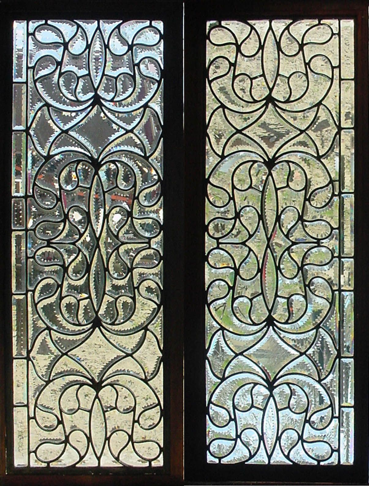Antique American Stained Glass Windows Vetrate