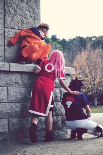 Naruto Sakura Sasuke Naruto Naruto Cosplay Naruto Cosplay