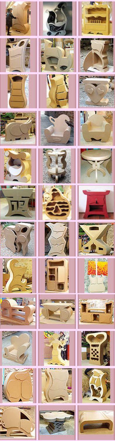 pin von john quebbemann auf cardboard what pinterest pappe m bel und karton. Black Bedroom Furniture Sets. Home Design Ideas