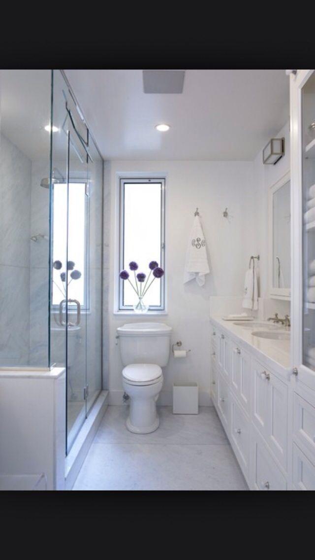 bathroom  narrow bathroom designs small narrow bathroom